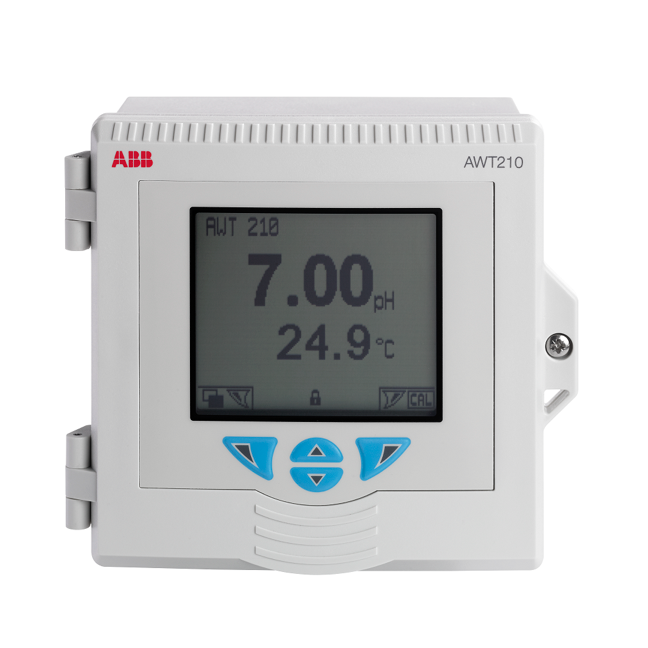 ABB analytical transmitter for pH & conductivity measurement