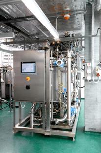 wastewater test platform