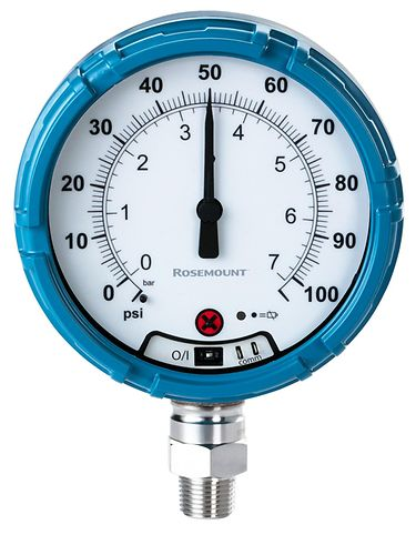 Emerson wireless pressure gauges ensure oil field safety