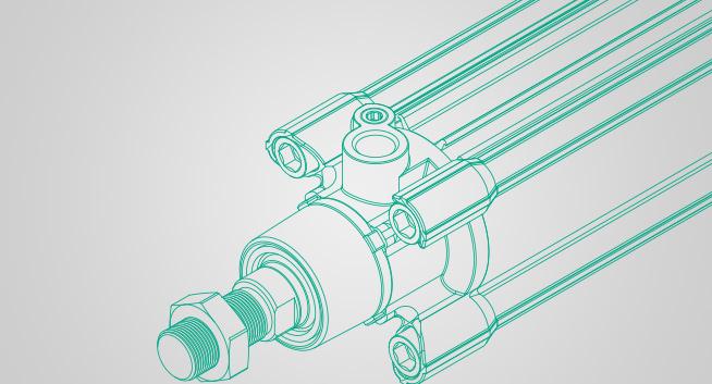 API Pneumatics cylinder types