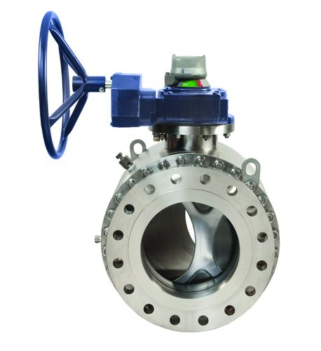 Val-Matic Quadrosphere ball valve for chemical application