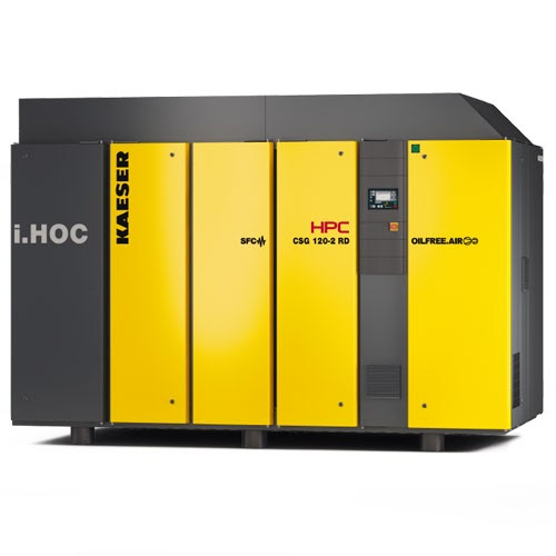 HPC oil-free compressor for the pharmaceutical industry