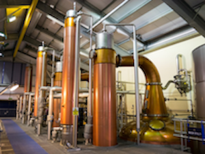 Scottish distilleries benefitting from compact ball segment valve