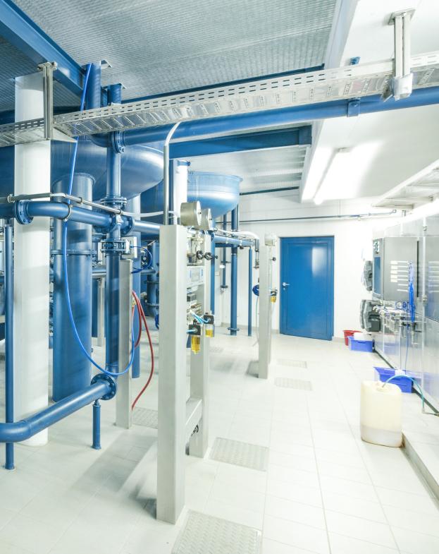 Bürkert technology streamlines water testing in Öhringen
